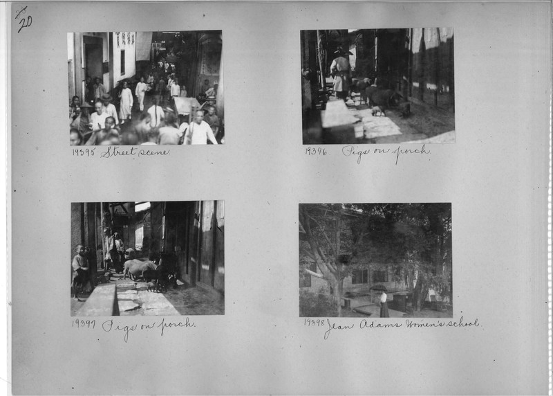 Mission Photograph Album - China #6 page 0020