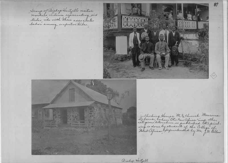 Mission Photograph Album - Africa - Madeira O.P. #2 page 0087