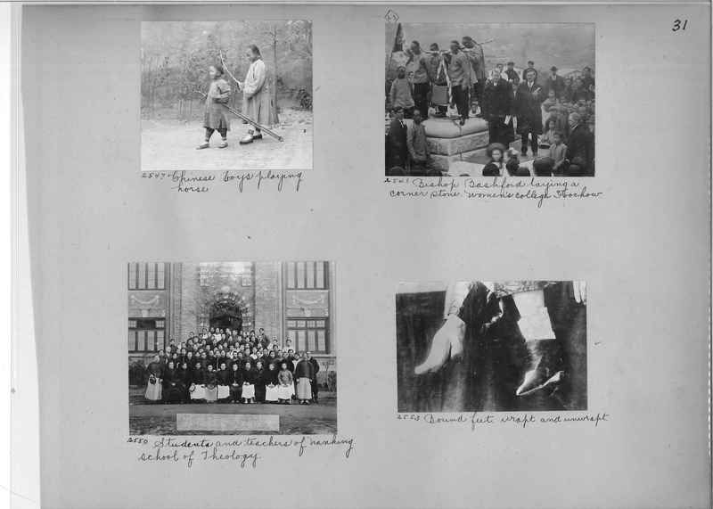 Mission Photograph Album - China #2 page  0031