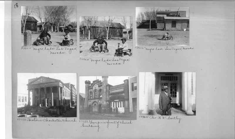 Mission Photograph Album - Negro #6 page 0018