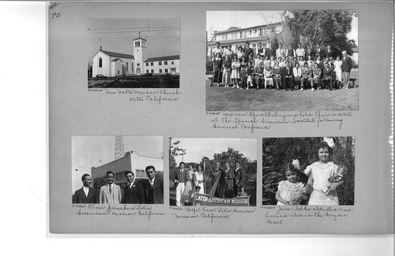 Mission Photograph Album - Latin America #2 page 0070