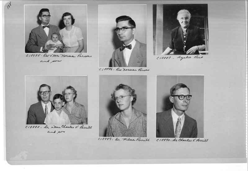 Mission Photograph Album - Portraits #08 Page 0108