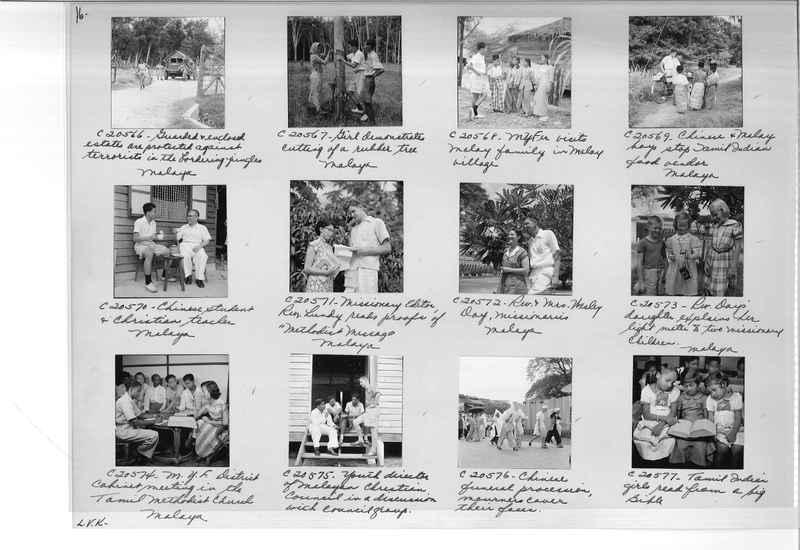 Mission Photograph Album - Malaysia #8 page 0016