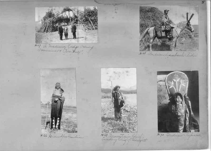 Mission Photograph Albums - Indians #1 page 0005