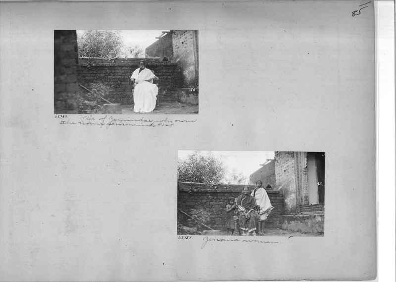 Mission Photograph Album - India #08 Page 0085