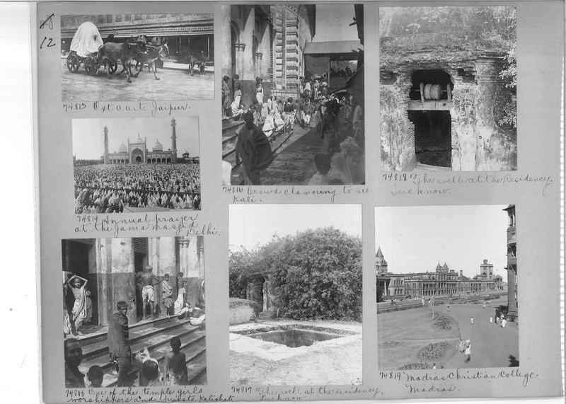 Mission Photograph Album - India #09 Page 0012