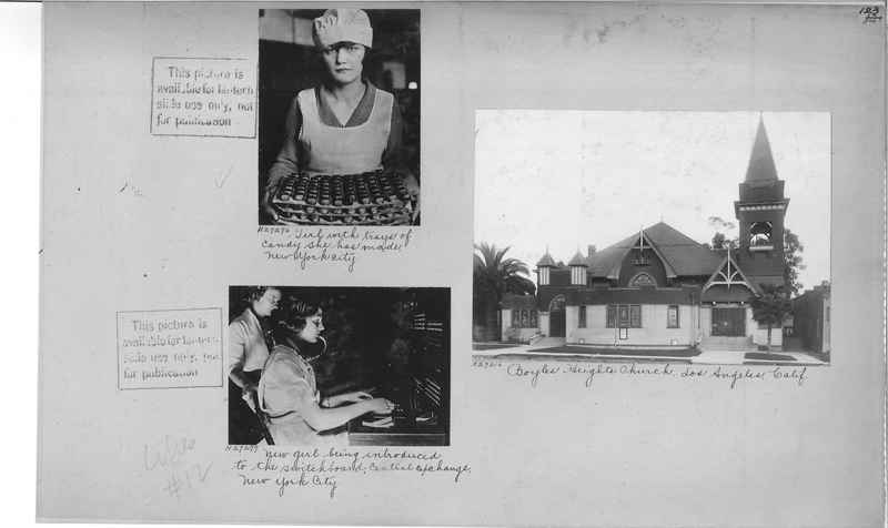 Mission Photograph Album - Cities #12 page 0123