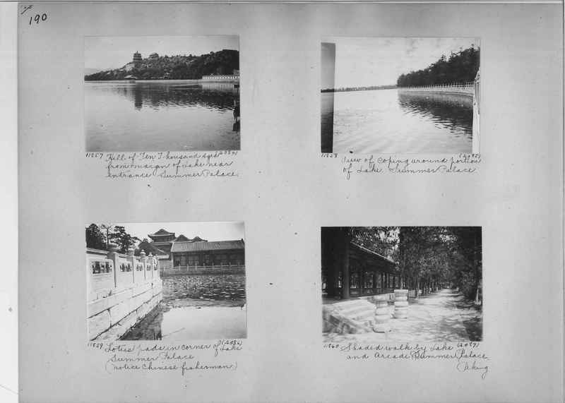 Mission Photograph Album - China #2 page  0190