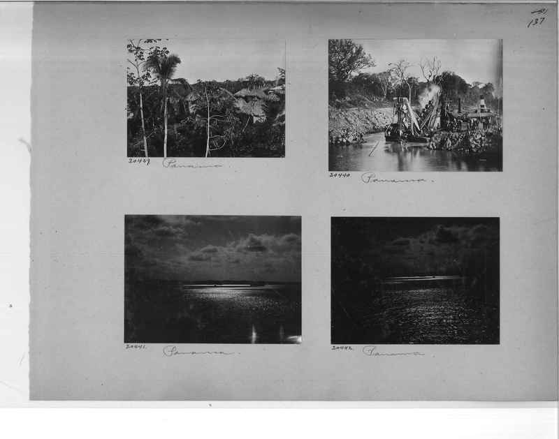 Mission Photograph Album - Panama #1 page  0137
