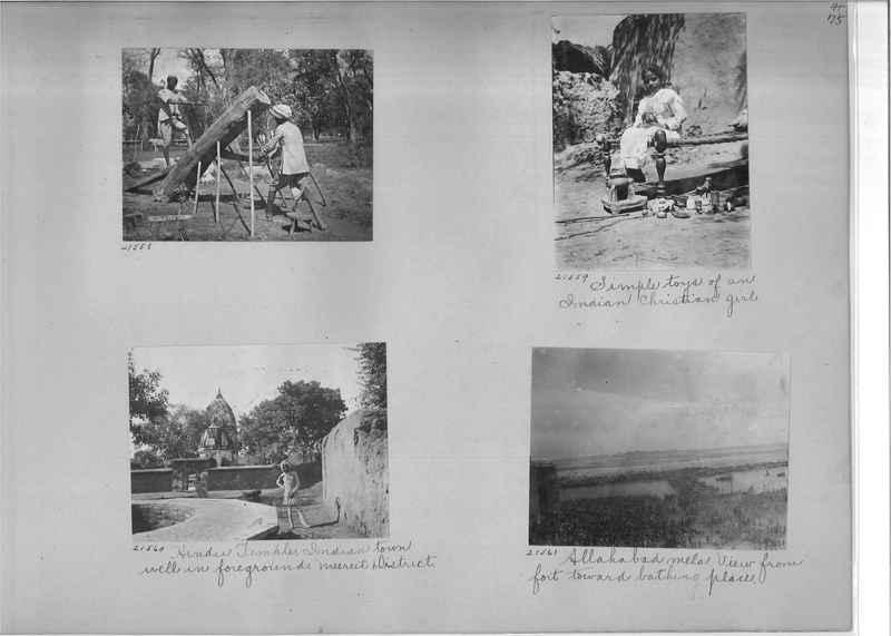 Mission Photograph Album - India #03 page_0075