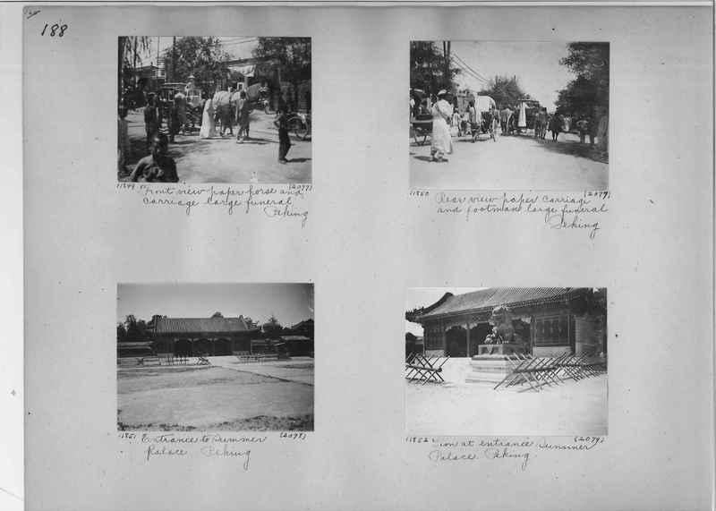 Mission Photograph Album - China #2 page  0188