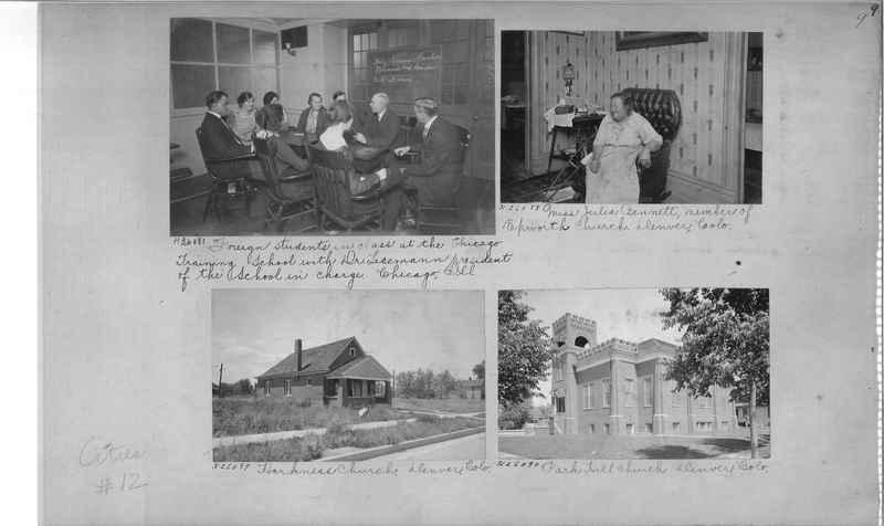 Mission Photograph Album - Cities #12 page 0009