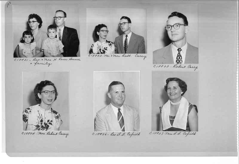 Mission Photograph Album - Portraits #08 Page 0100