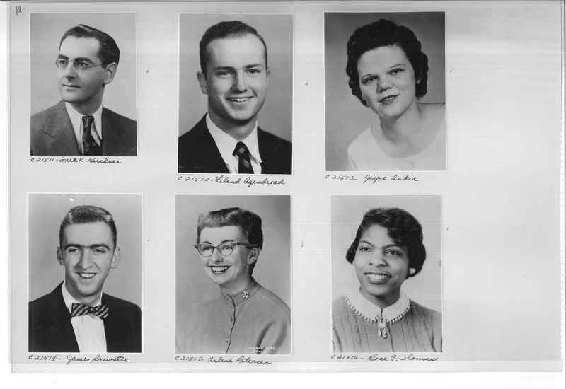 Mission Photograph Album - Portraits #10 Page 0048
