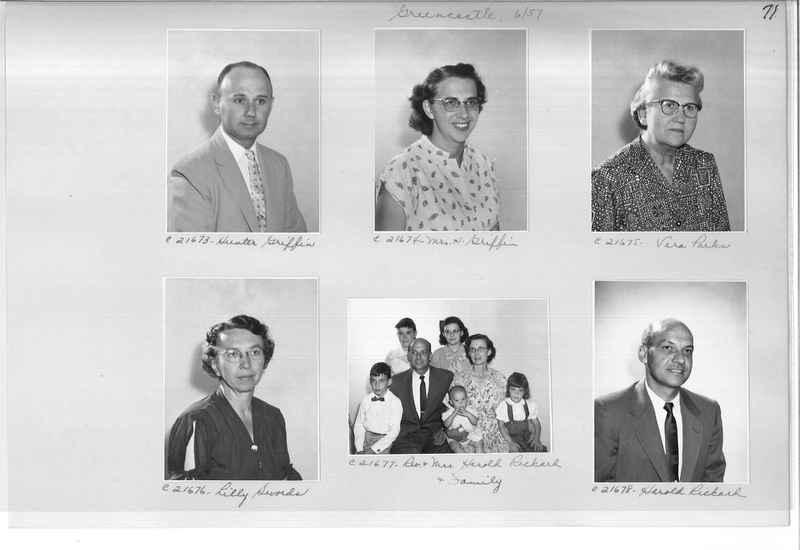 Mission Photograph Album - Portraits #10 Page 0071