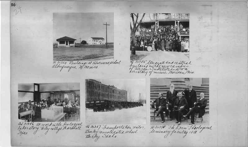 Mission Photograph Album - Education #2 page 0024