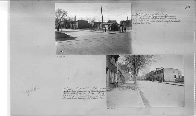 Mission Photograph Album - Negro #2 page 0027