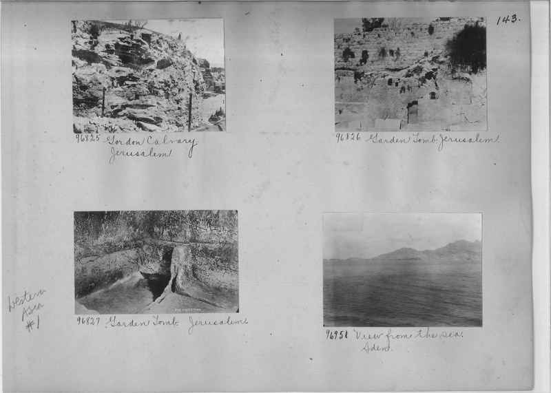 Mission Photograph Album - Western Asia - #01 page_0143