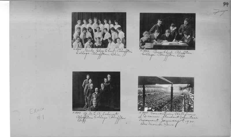 Mission Photograph Album - Education #1 page 0079