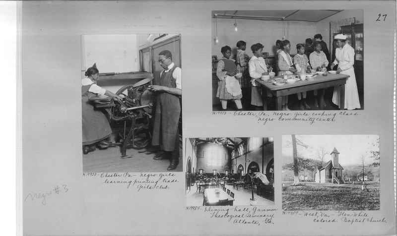 Mission Photograph Album - Negro #3 page 0027