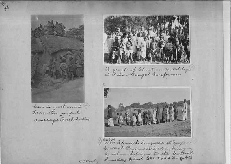 Mission Photograph Album - India - O.P. #01 Page 0054