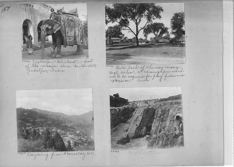 Mission Photograph Album - India #08 Page 0154