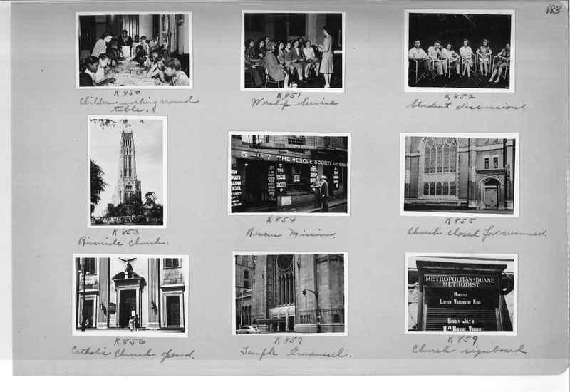 Mission Photograph Album - Cities #18 page 0183