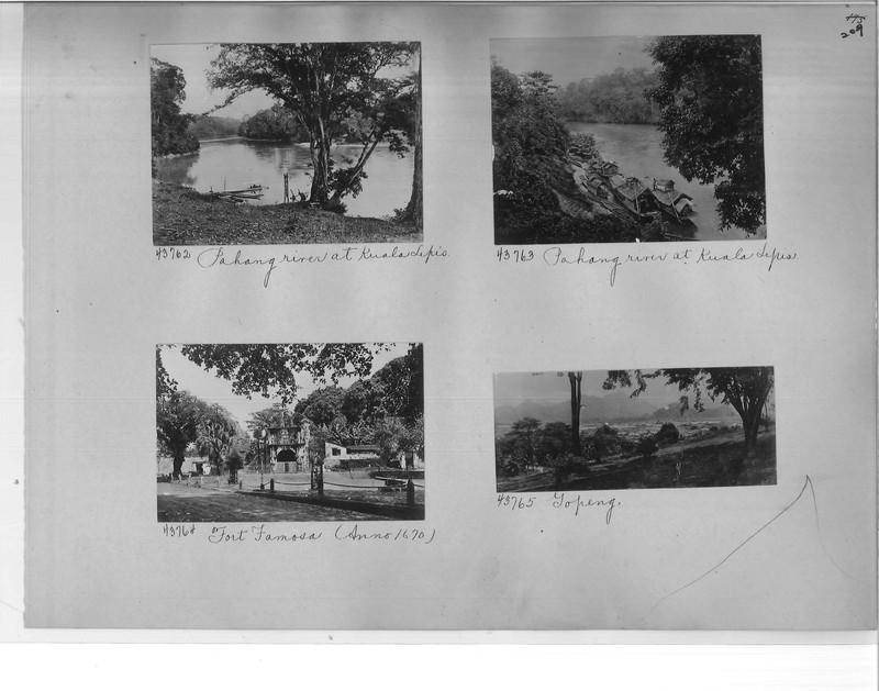 Mission Photograph Album - Malaysia #2 page 0209