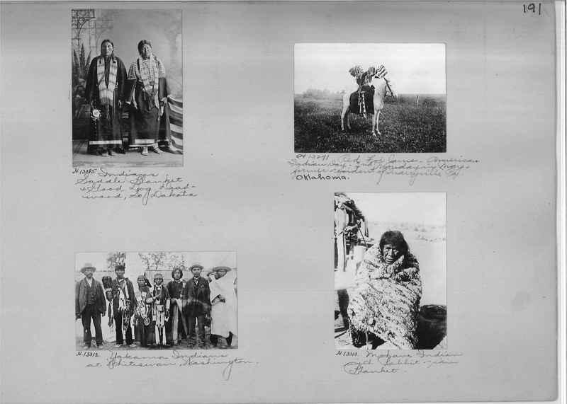 Mission Photograph Albums - Indians #1 page 0191