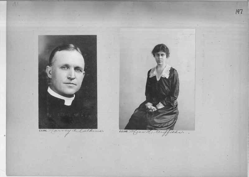 Mission Photograph Album - Portraits #2 page 0197