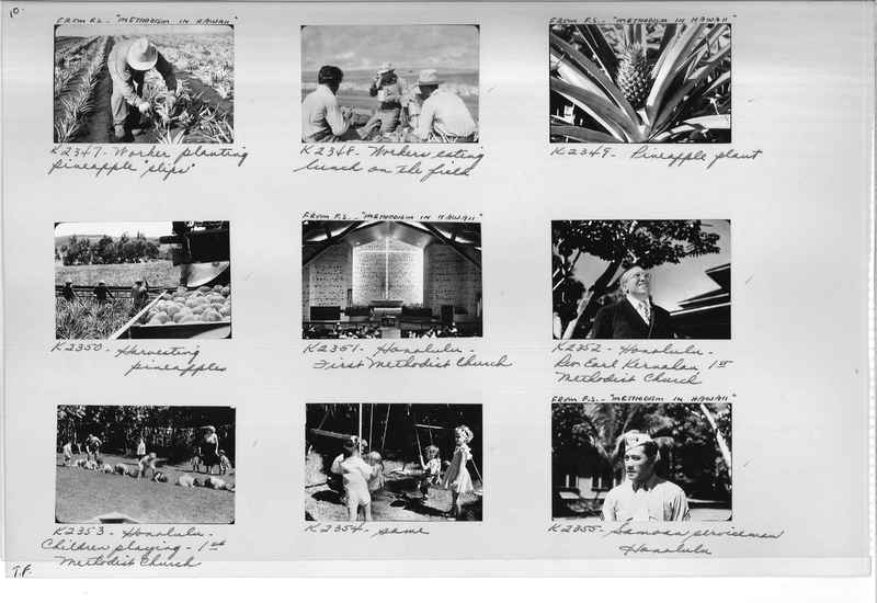 Mission Photograph Album - Hawaii #3 page 0010