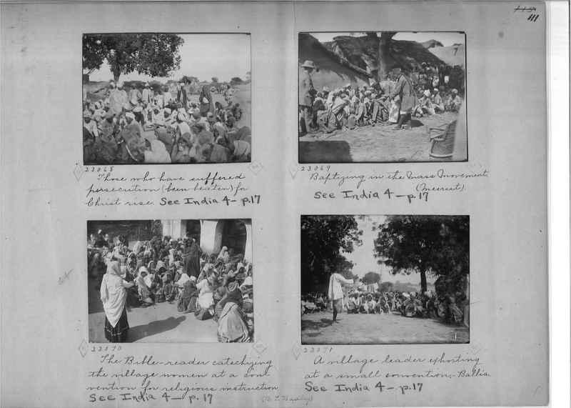 Mission Photograph Album - India - O.P. #01 Page 0111