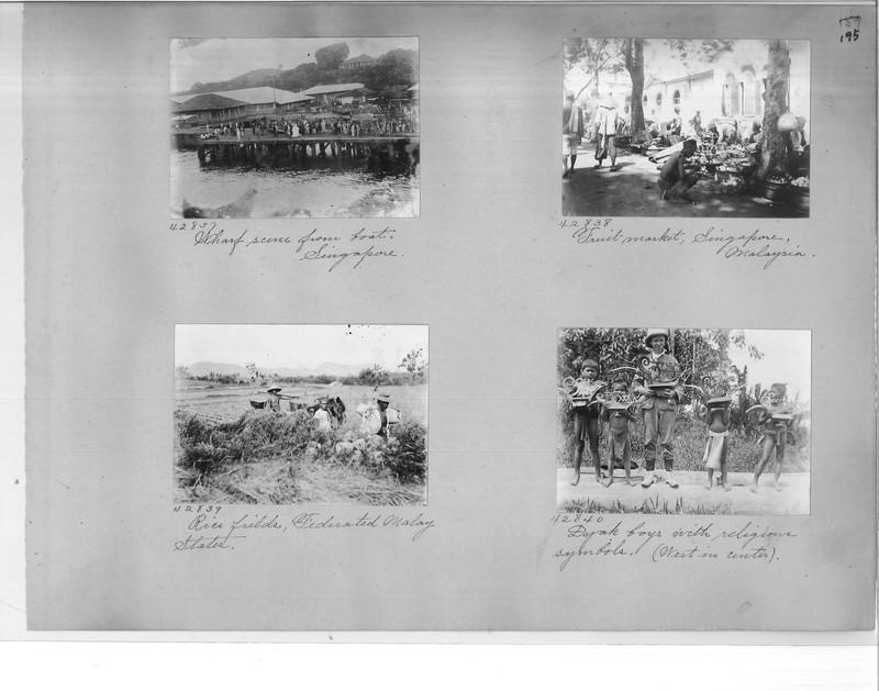 Mission Photograph Album - Malaysia #2 page 0195