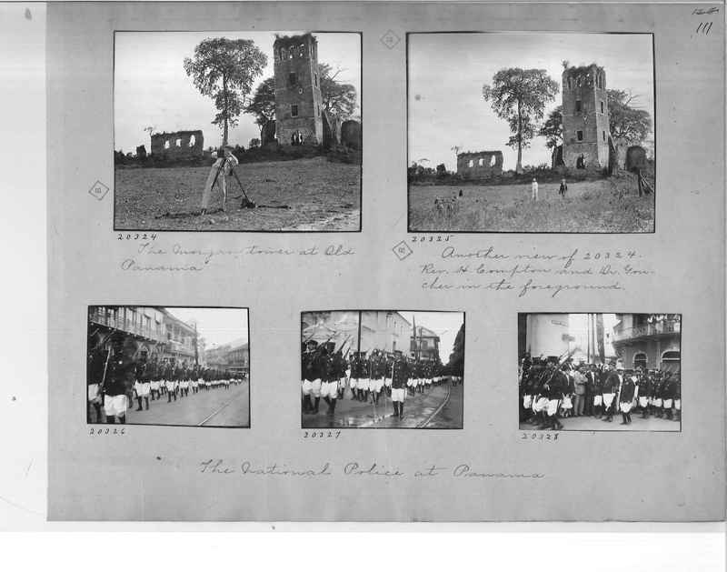 Mission Photograph Album - Panama #1 page  0111