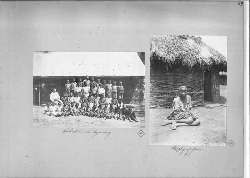 Mission Photograph Album - Africa O.P. #4 page 0029