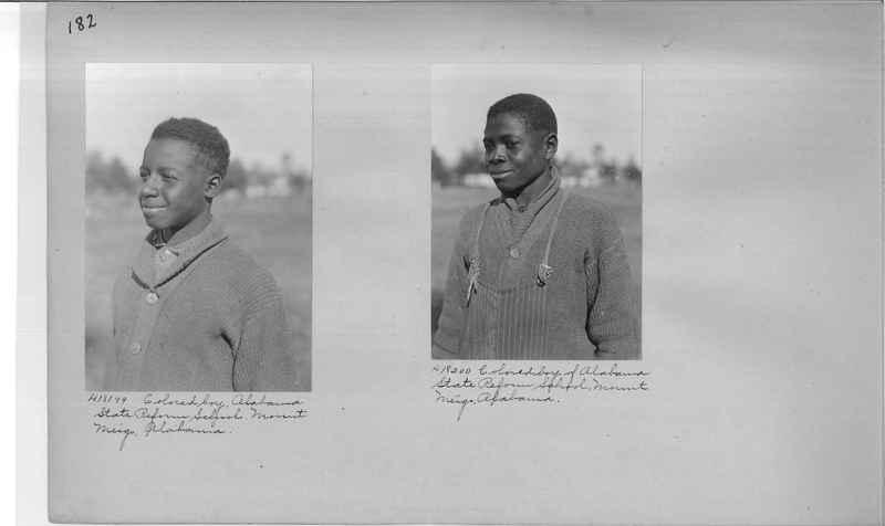 Mission Photograph Album - Negro #2 page 0182