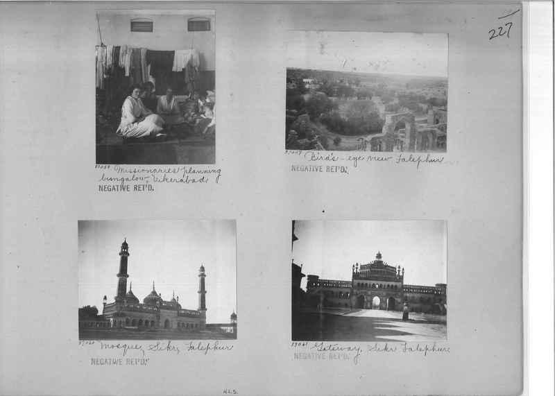 Mission Photograph Album - India #09 Page 0227