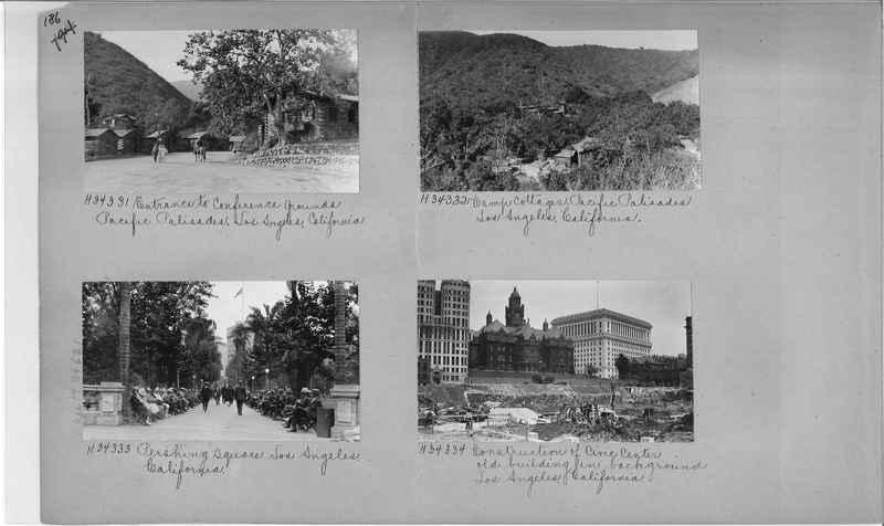 Mission Photograph Album - Cities #15 page 0186