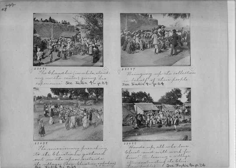 Mission Photograph Album - India - O.P. #01 Page 0118