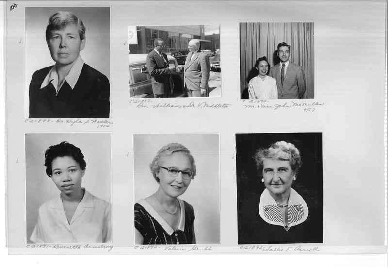 Mission Photograph Album - Portraits #10 Page 0100
