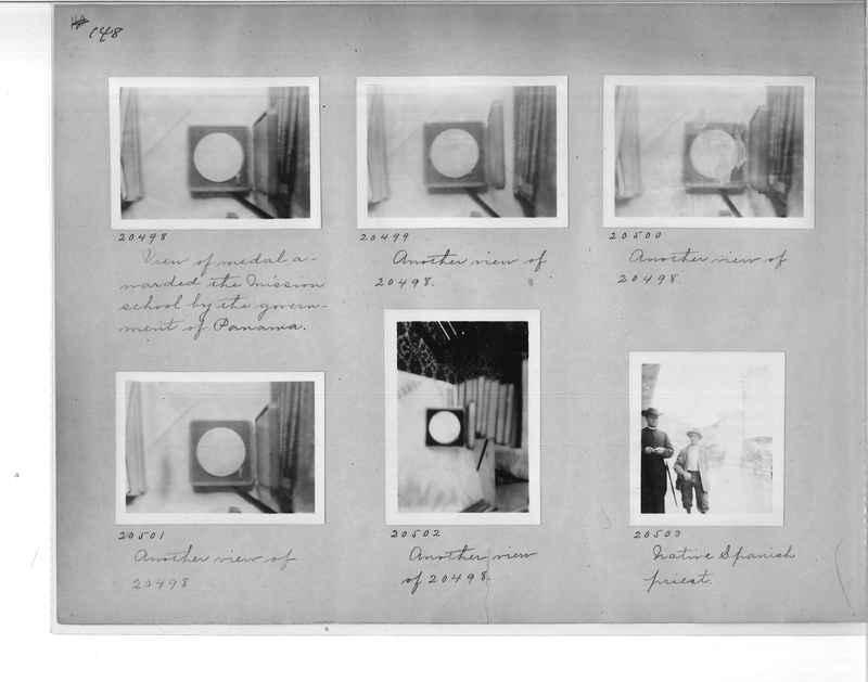 Mission Photograph Album - Panama #1 page  0148