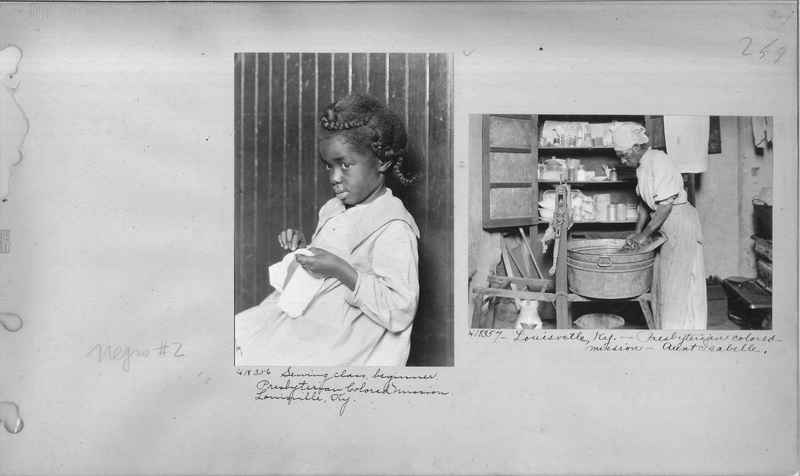 Mission Photograph Album - Negro #2 page 0259
