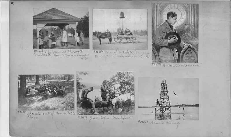 Mission Photograph Album - Education #2 page 0004