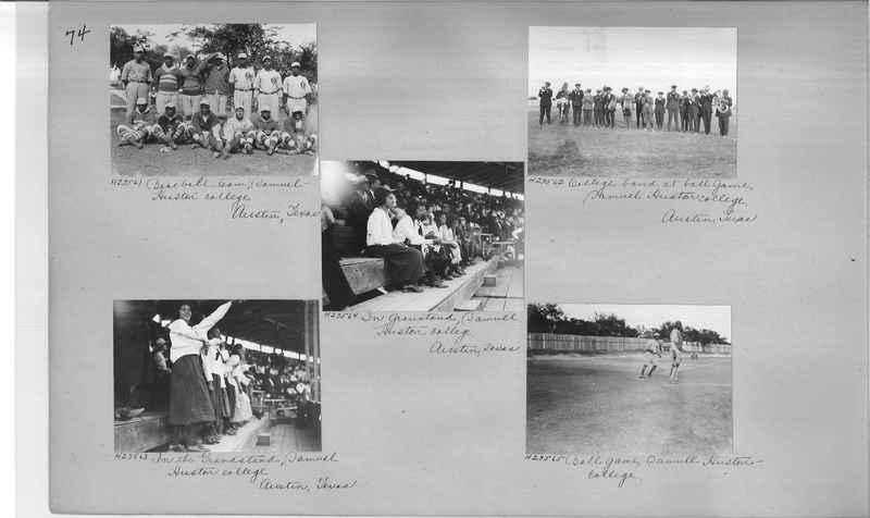Mission Photograph Album - Negro #3 page 0074