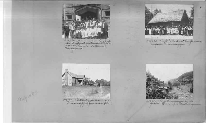 Mission Photograph Album - Negro #3 page 0001
