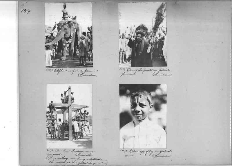 Mission Photograph Album - India #09 Page 0104