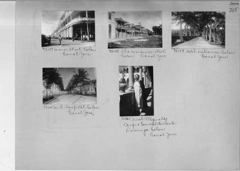 Mission Photograph Album - Panama #04 page 0215