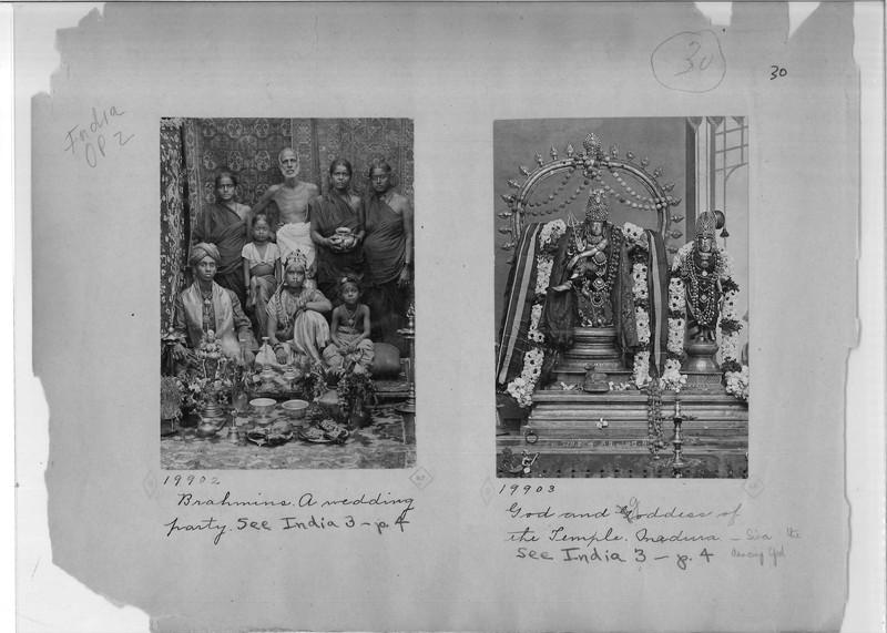 Mission Photograph Album - India - O.P. #02 Page 0030