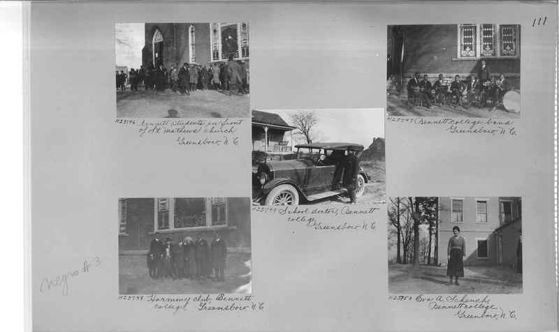 Mission Photograph Album - Negro #3 page 0111