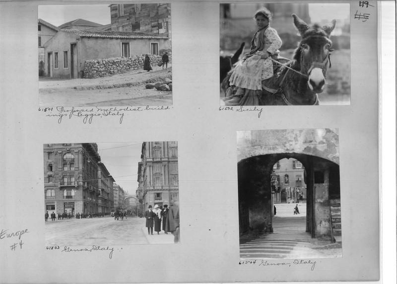 Mission Photograph Album - Europe #04 Page 0119
